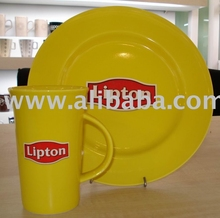 Yellow Promotional Mugs for Lipton