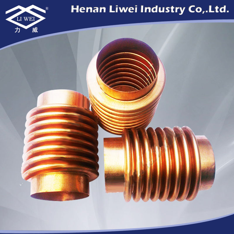 Bronze metal bellow for valve use