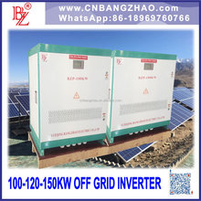 large power 10kw to 100kw dc to ac off grid solar power inverter