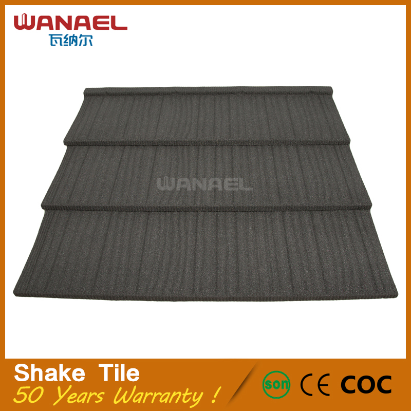Wanael hot selling colorful with CE certification stone roof tiles malaysia