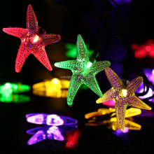 Christmas Garden Outdoor Decorative Stars Solar Patio String Lights With 20 LED