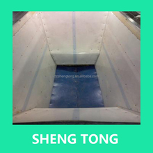 Non-adhesion UHMW polyethylene plastic liner sheet for coal bunker