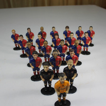 wholesale custom action figure/3d custom football player action figure/articulated custom pvc toys