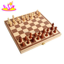 new hottest board game educational wooden kids play chess game with unique design W11A061