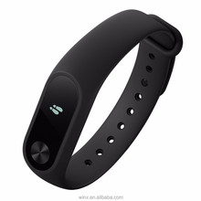 2016 New Mi Band 2 Wristband Sleep Tracker Heart Rate Monitor Bracelet smart band for Fitness mi band 2