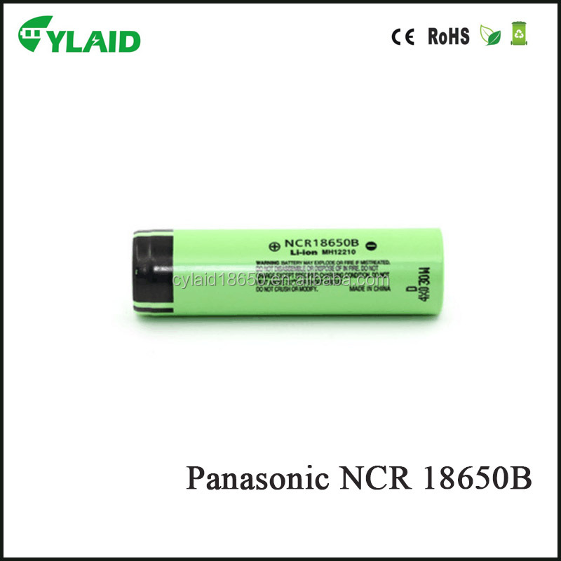 aaa rechargeable lithium-ion battery 3.7v 18650b 3400mah for electric vehicle