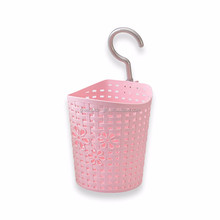 Factory cheap hot sale plastic basket with hooks