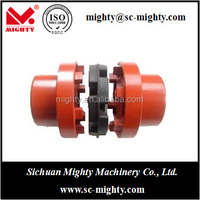 customized bore dia and keyway NM flexible couplings with rubber element NM128