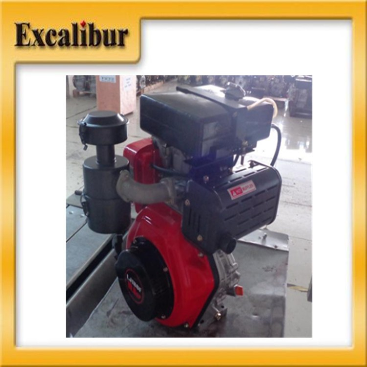 Single Cylinder Air And Water Cooled Diesel Engine 192FW 13hp