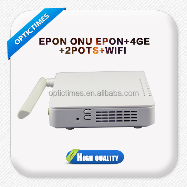 2/4 Ethernet ports+ VOIP+wifi gepon onu