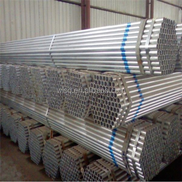 hot dipped galvanized steel pipes 32 mm GTC