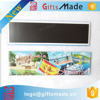 Wholesale custom logo cheap pretty personalized tourist city metal tin fridge magnet