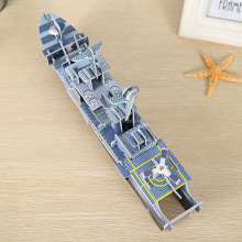 Eco-friendly Non-toxic military paper jigsaw puzzle 3D