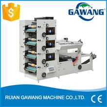 High Speed Automatic Label Flexo Printing Machine