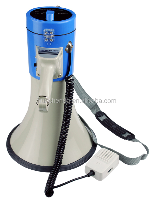 CE professional amplifier megaphone with 500m max effective distance