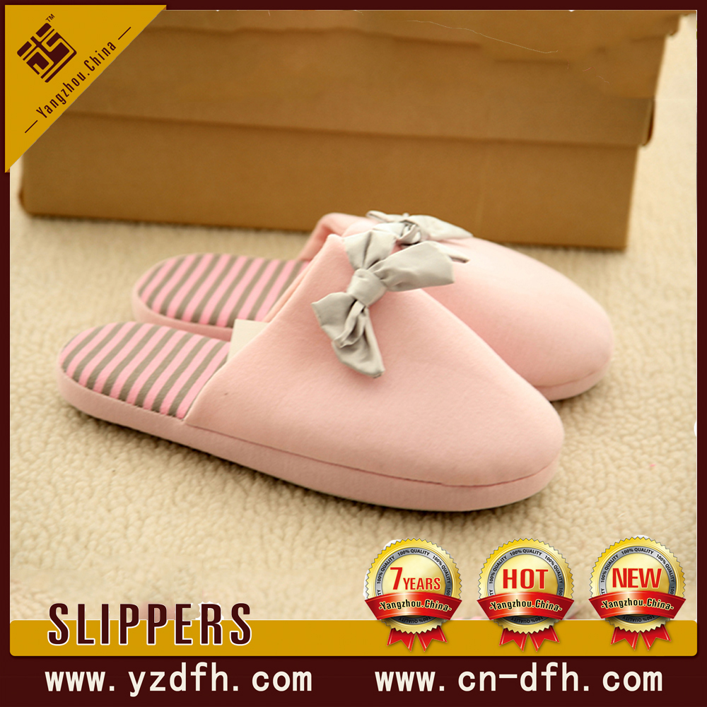 women sheepskin surgical foam rubber sole slipper