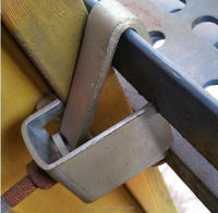 formwork accessories flange clamp and h20 beam clamp