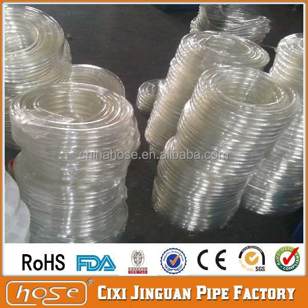 Export UK USA Non-Toxic FDA Food Grade Clear non toxic PVC tubing, Plastic Drainage Hose,PVC Soft Clear Pipe