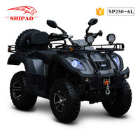 SP250-6L Shipao all new 400cc atv quad bikes for sale