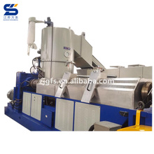 Double stages agriculture pe pp film granulator/eps foam plastic exturder recycling line
