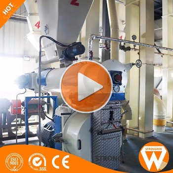 China Strongwin Professional factory supply complete biomass pellet production line wood