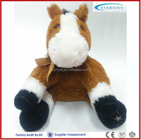custom stuffed plush toy decorative horse for sale