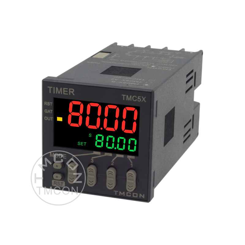 TMC5X TMCON DIN 48*48 LCD display Multifunction Time relay Industrial Digital Timer
