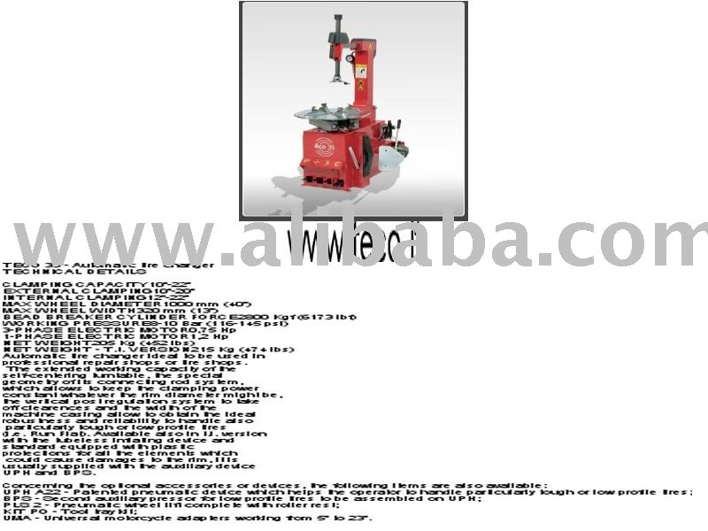 Italy Teco Tyre Changer Automatic