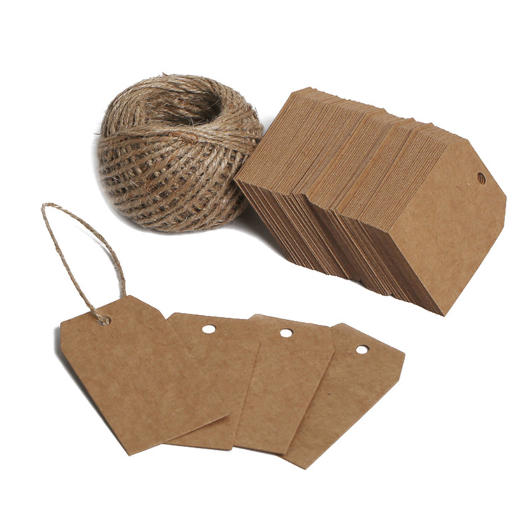 Custom Kraft Paper Tag Gift Packaging Hang <strong>Label</strong>