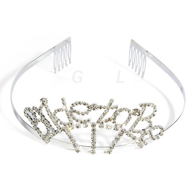 wholesale real diamond wedding crowns and tiaras with factory price