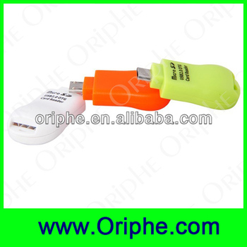 2014 Newest!!! mini OTG card reader from Shenzhen factory
