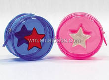 Fashion PVC plastic coin purse for kids