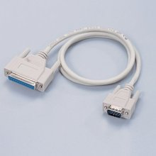 Double shelded HD15 male to HD25 Female connector VGA cables for computer monitor
