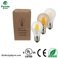 CE 220V 360 Degree 6W E27 Clear/Frost Glass A60 Lamp LED Light Edison LED Filament Lighting Bulb