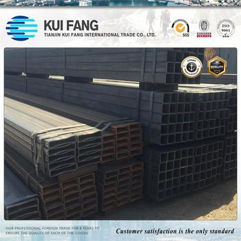 ERW Black Square Pipe for construction