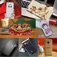 cellphone and tablet cover with custom vinyl skin sticker cutting machine