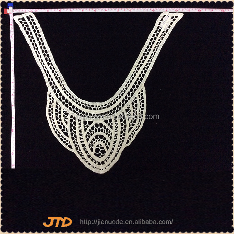 Latest Design Fashion Chinese Neck Sex Crochet Lace Collar Wholesale