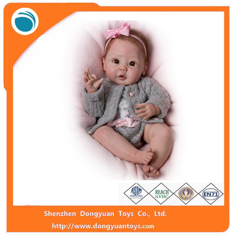 2015 New Fashion Reborn Girl Baby Doll Vinyl Toys