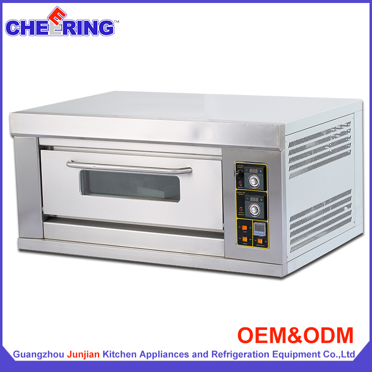 Commercial equipment 1 layer 3 tray commercial gas bread oven / bakery machines
