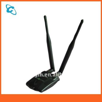kinamax 300mbps 2*high gain Antenna wifi adapter usb wireless
