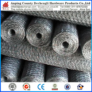 "China factory 3/4"" hexagonal wire mesh suppliers"