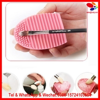 2017 New Arrival 1pc Silicone Fashion Egg Cleaning Glove Makeup Washing Brush Scrubber Tool Cleaners