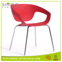 Dining Room Furniture W63*D62.5*H78 cm fancy modern plastic chair