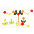 Flower And Tree Wood Block Kids Children Intelligence Wooden Toys