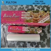 Double Sided Silicone Coated Baking Paper Non-stick Chocolate Wrapping Parchment Paper