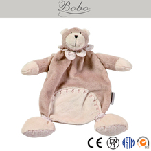 High Quality Cute Baby Doudou/Comforter in Rabbit/Bear Shape