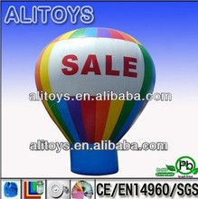 self inflating helium inflatable air star balloon toy for advertising