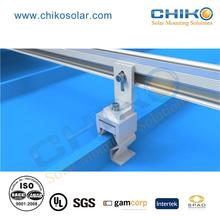 Natural Silver CK-FT-SK home solar system rail kit with cheap price