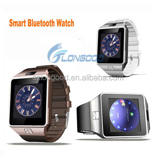 wholesales bluetooth touch screen android dz09 smart watch phone DZ09 sport watch with sim card slot
