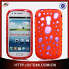 High Quality TPU + PU Cell Phone Accessory for Samsung Galaxy S3 Mini Case 4 inch